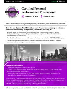 Certified Personal Performance Professional