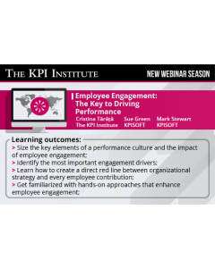 Employee Engagement: The Key to Driving Performance Standard Edition