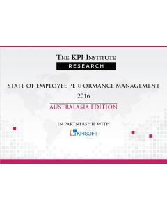 State of Employee Performance Management 2016 Australasia Edition