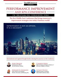 Performance Improvement and KPIs Conference Dubai