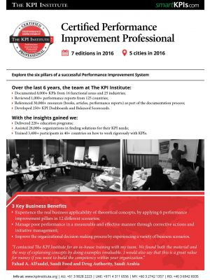 Certified Performance Management Professional