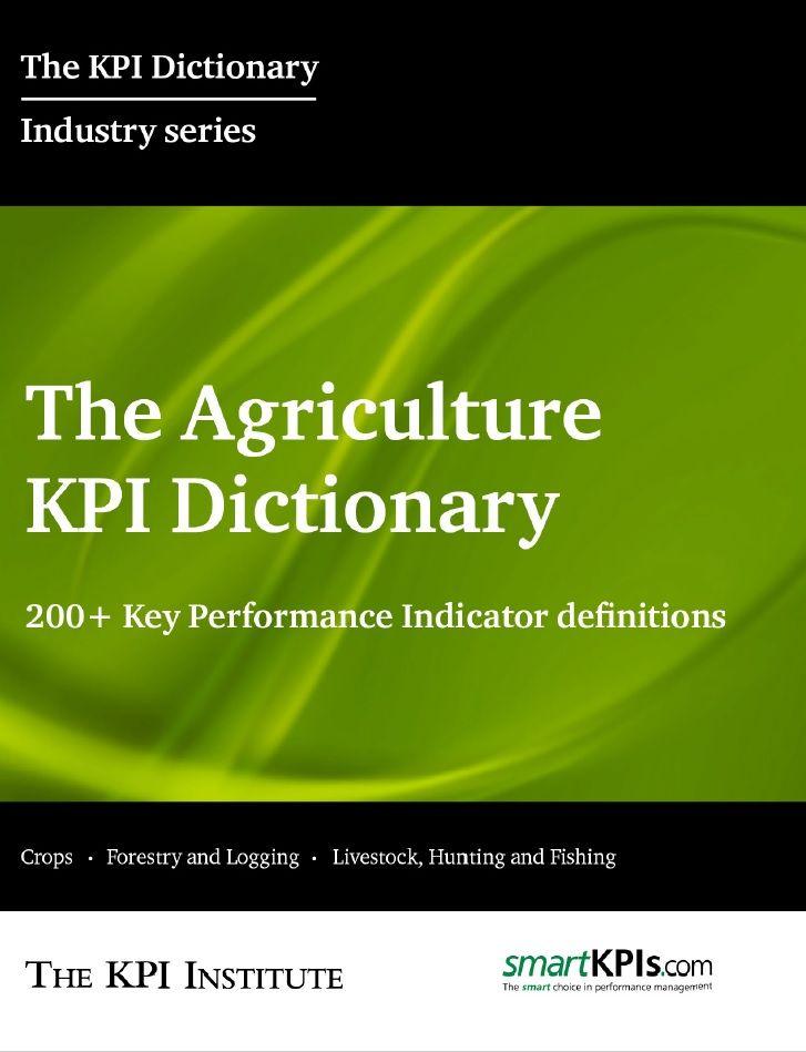 The Agriculture KPI Dictionary E-Book 1