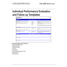 individual performance evaluation and follow up templates individual performance evaluation and follow up templates