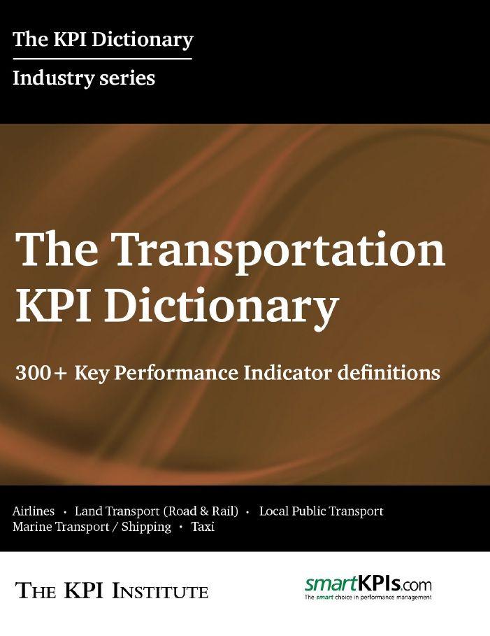 The Transportation KPI Dictionary E-Book 1