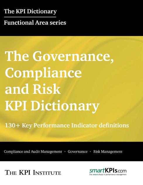 The Governance, Compliance and Risk KPI Dictionary E-Book
