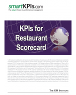 KPIs for Restaurant Scorecard