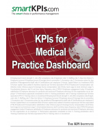 KPIs for Medical Practice Dashboard