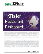KPIs for Restaurant Dashboard