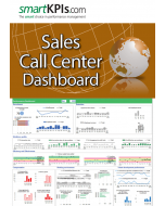Sales Call Center Dashboard