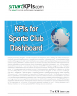 KPIs for Sports Club Dashboard