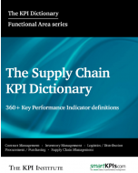 The Supply Chain KPI Dictionary