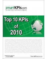 Top 10 KPIs of 2010