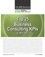 Top 25 Business Consulting KPIs of 2011-2012