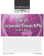 Top 25 Corporate Travel KPIs of 2011-2012
