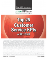 Top 25 Customer Service KPIs of 2011-2012