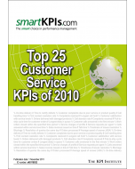Top 25 Customer Service KPIs of 2010