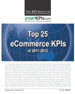 Top 25 eCommerce KPIs of 2011-2012