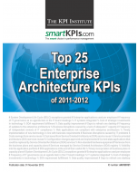 Top 25 Enterprise Architecture KPIs of 2011-2012