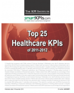 Top 25 Healthcare KPIs of 2011-2012