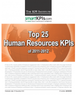 Top 25 HR KPIs of 2011-2012