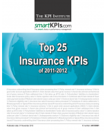 Top 25 Insurance KPIs of 2011-2012