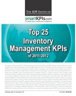 Top 25 Inventory Management KPIs of 2011-2012