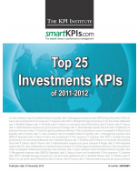 Top 25 Investments KPIs of 2011-2012