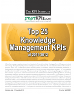 Top 25 Knowledge Management KPIs of 2011-2012