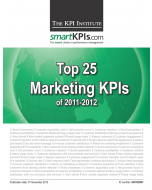 Top 25 Marketing KPIs of 2011-2012