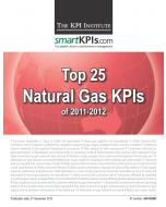 Top 25 Natural Gas KPIs of 2011-2012