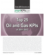 Top 25 Oil and Gas KPIs of 2011-2012