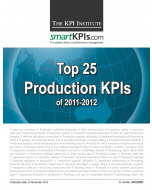 Top 25 Production KPIs of 2011-2012