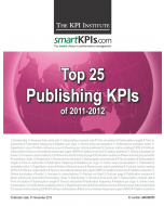 Top 25 Publishing KPIs of 2011-2012