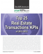 Top 25 Real Estate Transactions KPIs of 2011-2012