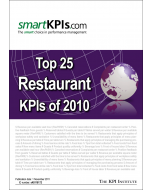 Top 25 Restaurant KPIs of 2010