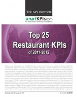Top 25 Restaurant KPIs of 2011-2012