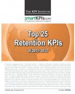 Top 25 Retention KPIs of 2011-2012