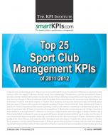 Top 25 Sport Club Management KPIs of 2011-2012