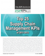 Top 25 Supply Chain Management KPIs of 2011-2012