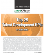 Top 25 Talent Development KPIs of 2011-2012