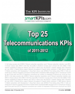 Top 25 Telecommunications KPIs of 2011-2012