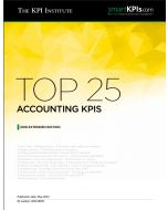 Top 25 Accounting KPIs – 2016 Extended Edition