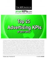 Top 25 Advertising KPIs of 2011-2012