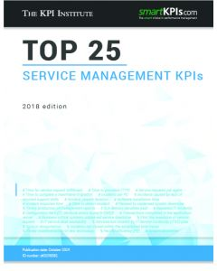 Top 25 Service Management KPIs - 2018 Edition