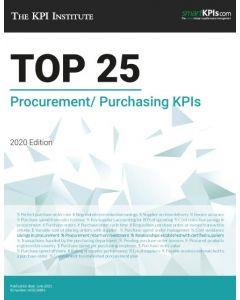 The Top 25 Procurement/ Purchasing KPIs – 2020 Edition