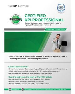 Live Online Certified KPI Professional 10-14 August