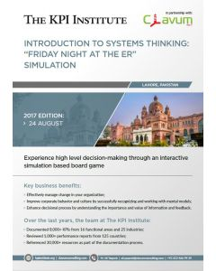 Introduction to Systems Thinking - Friday Night at the ER