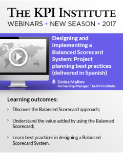 Designing and implementing a Balanced Scorecard System: Project planning best practices (delivered in Spanish)