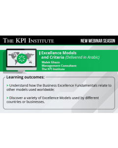 Excellence Models and Criteria-delivered in arabic