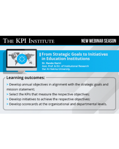 From Strategic Goals to Initiatives in Education Institutions
